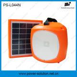 PS-044n de Draagbare ZonneCapaciteit van uitstekende kwaliteit 2600mAh van de Batterij van de Lantaarn met de Lader van de Telefoon USB voor Binnen & Openlucht