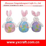 Lapin gentil à croquer de Pâques de nouvelle conception de la décoration de Pâques (ZY14C867-1-2)