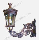 Lámpara de calle del arrabio, lámpara del jardín del bastidor del hierro