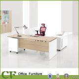 薄い色のメラミン木製の執行部の机デザイン
