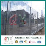 Il PVC ha ricoperto l'alta barriera di sicurezza/Anti-Arrampica la rete fissa saldata 358 reti fisse della rete metallica
