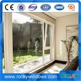 Alumínio Vertical Casement Window Design Double Glazing Janelas e portas de alumínio