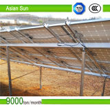 Suportes duplos do painel solar da linha central, perseguidor automático estável