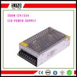 200W Stromversorgung, DC12V Schaltungs-Stromversorgung für LED-Streifen