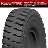 Schräge Planierraupe weg von Straßen-Reifen 17.5-25