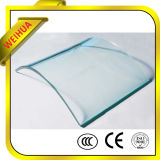 Glass clair Technique et Flat Shape Clear Tempered Glass