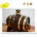 Barillets de bière en bois avec le réservoir intérieur de SUS