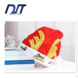 طفلة عيد ميلاد المسيح قبعة قرن وعل ذهبيّة زخرفيّة غطاء هبة