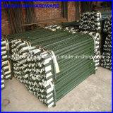 Poste de frontière de sécurité de poste de l'acier du carbone Q235 T pour la clôture provisoire