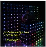 LEDのスタジオの背景幕の星Curatin