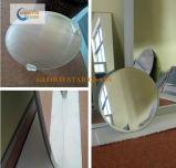 espelho chanfrado redondo de 3-6mm, espelho de prata, espelho de alumínio