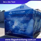 Barraca de dobramento ao ar livre de anúncio impressionante do Gazebo do famoso 2016 com parede lateral