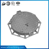 OEM Ductile Iron Casting Drenagem Manhole Capa Médio Duty Ductile Lockable Manhole Cover