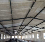 La fabricación de acero fibra de vidrio reforzada de plástico Panel de Chicken House / Granja / Sala