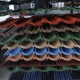Большое сбывание! ! ! Плитки крыши цветастого камня Coated стальные (размер: 1340*420mm)