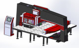 Blech mechanischer CNC-Drehkopf-lochende Maschinen-Preis von der Fabrik