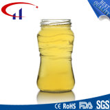 240ml一学年の無鉛ガラス蜂蜜の瓶(CHJ8084)
