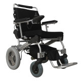 Sillón de ruedas Handicapped de la potencia del sillón de ruedas eléctrico del plegamiento
