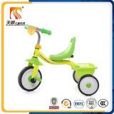 Bicicleta das crianças das rodas do frame de aço 3 com cesta traseira