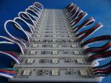 DC12V 3chips는 표시 상자를 위한 RGB5050 SMD LED 모듈을 방수 처리한다