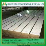 Schlitz MDF/Plain/Wood Veneer/PVC/HPL/UV/Melamine lamellierter MDF
