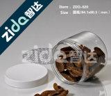 최고 서비스 중국에서 플라스틱 사탕 단지가 플라스틱 애완 동물 꿀에 의하여 거슬린다