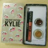 Le rouge à lievres de Kylie de gel de sourcil de Lipgloss Lipliner deux de nécessaire de rouge à lievres d'édition de vacances de Kylie le plus neuf