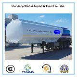Tanker-Schlussteil des Brennstoff-50000L mit 3 Fuwa Wellen