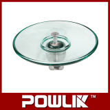 Isolador de vidro do perfil elevado do ar aberto de Qualiy (LXAP-70/120)