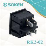 Rk2-02 en la salida el 6 pernos Interruptor basculante CQC
