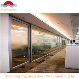 Australisches Standarddoppeltes glasig-glänzendes Aluminiumwindows u. Türen, Schiebetür-Innenraum-Glas