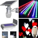 Luz Solar LED de Parede de Emergência de Cordas de Segurança de Decoração de Jardim Exterior