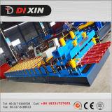 Roulis en acier coloré de panneau de toit d'utilisation de type et de toit de tuile formant la machine