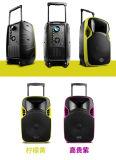 Altoparlante senza fili ricaricabile del proiettore del carrello di Bluetooth di vendita superiore