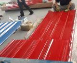 A cor de PPGI revestiu as chapas de aço onduladas Prepainted