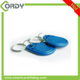 Keyfob impresso do Fob 13.56MHz LOGOTIPO chave RFID MIFARE do ABS