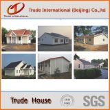 Стальная дом с панелями плакирования PVC
