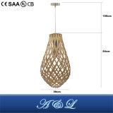 Neuer Entwurfs-hölzerne hängende Lampe mit konkurrenzfähigem Preis