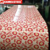 Camelsteelの花のコーティングPPGI
