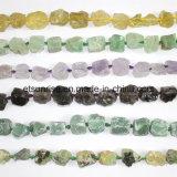 형식 원석 혼합 색깔 수정같은 구슬로 만드는 거친 덩어리 돌