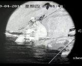 手段によって取付けられるPTZレーザーIRの夜間視界のカメラ(HLV311)