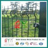 溶接された網は電流を通された3D庭の塀のパネルをFence//Hot浸す