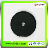 A alta temperatura popular de RFID resiste o Tag Washable da moeda da lavanderia
