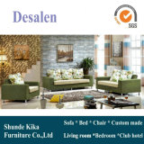 Sofà del tessuto della Doubai di colore verde in mobilia del salone (2190)