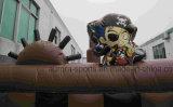 Heißer Verkaufs-aufblasbare Piraten-Lieferung, riesiger aufblasbarer Piraten-Lieferungs-Prahler
