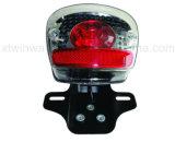 Peça da motocicleta Ww-7176, luz traseira da motocicleta do diodo emissor de luz Cg125, lâmpada de cauda,