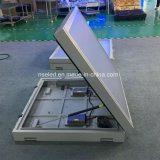 Scheda di messaggio portatile della tabella completa di Nse P25 LED con il rimorchio VM del rifornimento di energia solare 12V