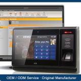 De meertalige Off-line en Online Werkende Makkelijk te gebruiken Apparatuur van het Toegangsbeheer van de Vingerafdruk