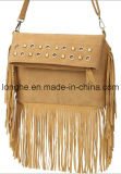 Designer Fashion Tassel Folded Crossbody Handbag (LY0051)