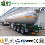 Camion-citerne de remorque de l'essieu 49m3 LPG du constructeur 3 de la Chine semi avec ASME